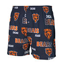 Chicago Bears Mens Sweep All Over Logo Boxers