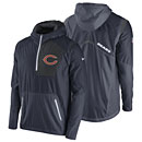 Chicago Bears Vapor Speed Fly Rush Half-Zip Jacket