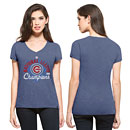 Chicago Cubs Ladies 2016 NL Champs Scrum V-Neck T-Shirt