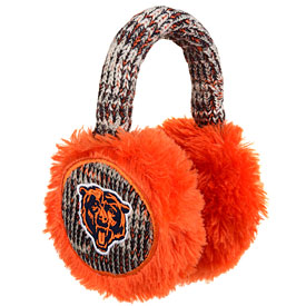 Chicago Bears Knit Earmuffs