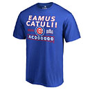 Chicago Cubs 2016 World Series Champions Eamus Catuli/Let's Go Cubs T-Shirt