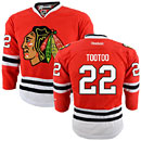 Chicago Blackhawks Jordin Tootoo Youth Red Premier Jersey w/ Authentic Lettering