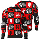 Chicago Blackhawks Patches Ugly Sweater