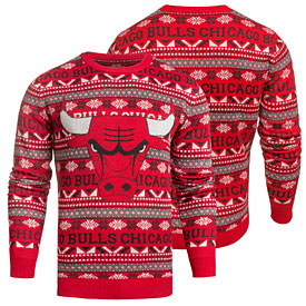 Chicago Bulls Aztec Ugly Sweater