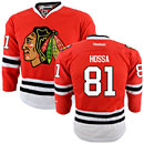 Chicago Blackhawks Marian Hossa Youth Red Premier Jersey w/ Authentic Lettering