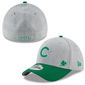 Chicago Cubs St. Paddy's Change Up 39/30 Flex Fit Cap
