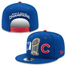 Chicago Cubs 2016 World Series Champions Trophy Snapback Adjustable Cap