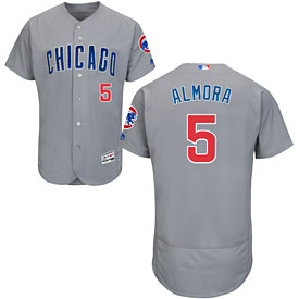 Chicago Cubs Albert Almora Jr. Road Flexbase Authentic Collection Jersey