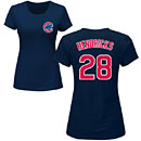 Chicago Cubs Kyle Hendricks Ladies Navy Name and Number T-Shirt