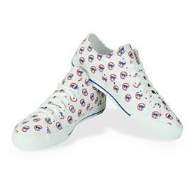 Chicago Cubs Walking Bear All Over Print Victory Shoes