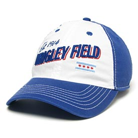 Wrigley Field EZA Postcard Snapback Adjustable Cap