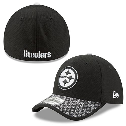 Pittsburgh Steelers Black 2017 Sideline 39THIRTY Flex Fit Cap. Hover to  magnify image. CLOSE  X . Zoomed Image 8691fb408