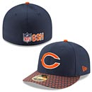 Chicago Bears 2017 Sideline Official Low Profile 59FIFTY Fitted Cap