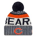 Chicago Bears Youth 2017 Sideline Official Sport Knit Hat with Pom