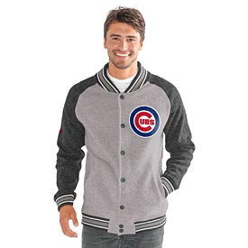 Chicago Cubs The Ace Button-Up Sweater