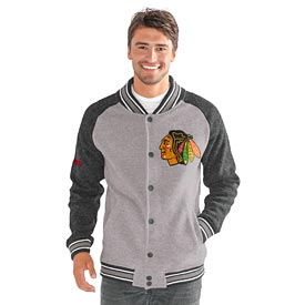 Chicago Blackhawks The Ace Button-Up Sweater