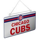 Chicago Cubs License Plate Ornament