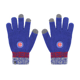 Chicago Cubs Men's Static Acrylic Gloves