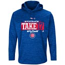 Chicago Cubs 2017 Postseason Participant AC Hooded Sweatshirt