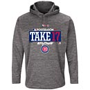 Chicago Cubs 2017 Postseason Participant Grey AC Hooded Sweatshirt