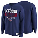 Chicago Cubs Nike 2017 October Ready Legend Long Sleeve T-Shirt