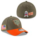Chicago Bears 2017 Salute to Service 39THIRTY Flex Fit Cap