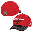Chicago Blackhawks Youth adidas Locker Room Flex Fit Cap