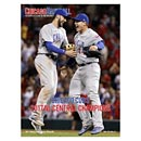 Chicago Cubs Baseball 2017 Playoffs Issue Program/Scorecard