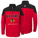 Chicago Blackhawks Youth Pullover 1/4 Zip Jacket