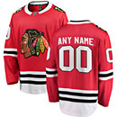 Chicago Blackhawks Customized Home Breakaway Jersey w/ Authentic Lettering