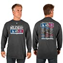 Chicago Cubs 2017 NLCS Match Up Long Sleeve T-Shirt