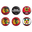Chicago Blackhawks 6 Pack of Buttons
