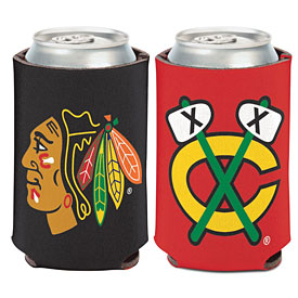Chicago Blackhawks Two-Sided Can Cooler