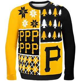 Pittsburgh Pirates Busy Block Ugly Sweater