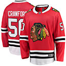 Chicago Blackhawks Corey Crawford Home Breakaway Jersey w/ Authentic Lettering