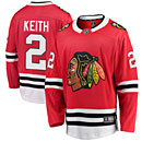 Chicago Blackhawks Duncan Keith Home Breakaway Jersey w/ Authentic Lettering
