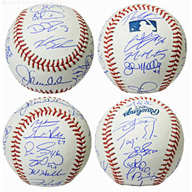 2016 Chicago Cubs Team Signed Rawlings Official MLB Baseball (23 Sigs)