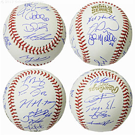 2016 Chicago Cubs Team Signed Rawlings Official 2016 World Series Baseball (22 Sigs)