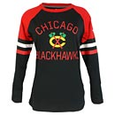 Chicago Blackhawks Ladies Iconic Long Sleeve T-Shirt