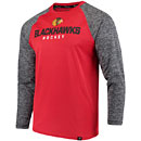 Chicago Blackhawks Static Long Sleeve T-Shirt