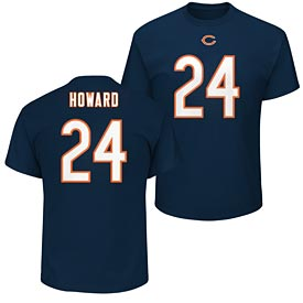 Chicago Bears Jordan Howard Eligible Receiver Name and Number T-Shirt