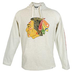 Chicago Blackhawks True Classic French Terry Hooded Sweatshirt