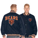 Chicago Bears Pump Fake Wool Jacket