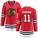 Chicago Blackhawks Cody Franson Ladies Home Breakaway Jersey w/ Authentic Lettering