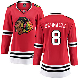 Chicago Blackhawks Nick Schmaltz Ladies Home Breakaway Jersey w/ Authentic Lettering