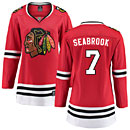 Chicago Blackhawks Brent Seabrook Ladies Home Breakaway Jersey w/ Authentic Lettering