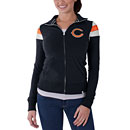 Chicago Bears Ladies Cross Over Track Jacket