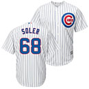 Chicago Cubs Jorge Soler Youth Home Cool Base Printed Jersey