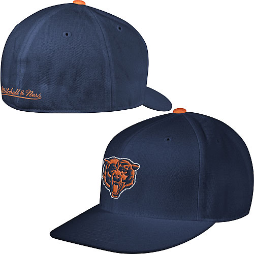 e15a9d3c9 Chicago Bears Fitted Throwback Hat
