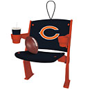 Chicago Bears Stadium Chair Christmas Ornament